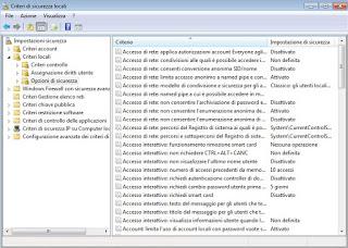 Políticas de Windows 7
