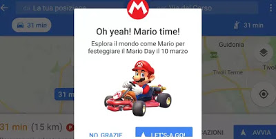 Google Maps como Mario Kart