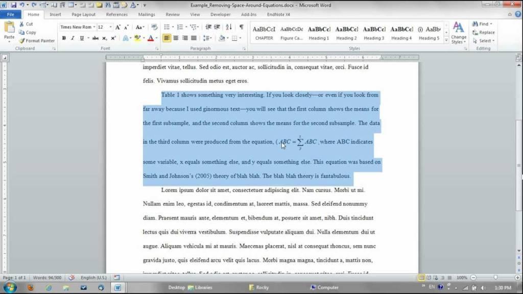 ¿Cómo eliminar / eliminar espacios entre palabras y párrafos en Word?  1