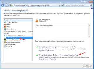 Elija programas predeterminados en Windows 7