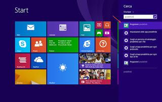 Programas predeterminados en Windows 8