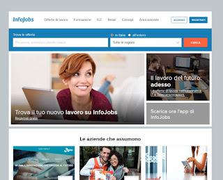 Sitio web de Infojobs