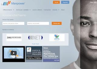 Sitio web de Manpower