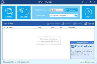 Programa DocuFreezer