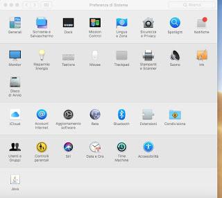 Preferencias de Mac