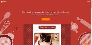 Sitio web de Blogger