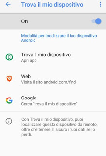 Encuentra Android