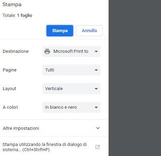 Impresora PDF