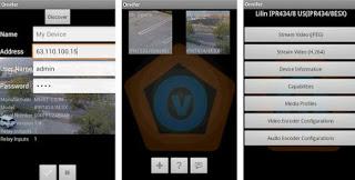 Monitor de cámara IP ONVIF