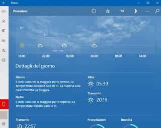 Clima de Windows