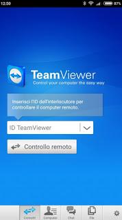 Cómo utilizar la aplicación Teamviewer