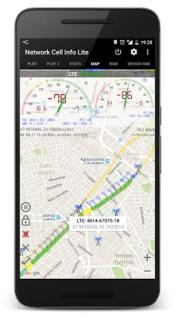 Aplicación Network Cell Info Lite