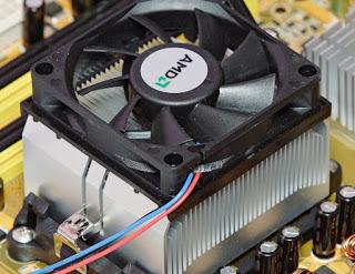 Disipador de calor de la CPU