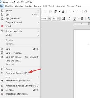 LibreOffice PDF