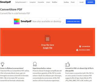 Sitio de conversión de PDF