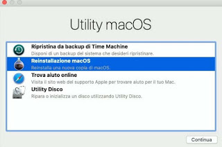 Recuperación de Mac