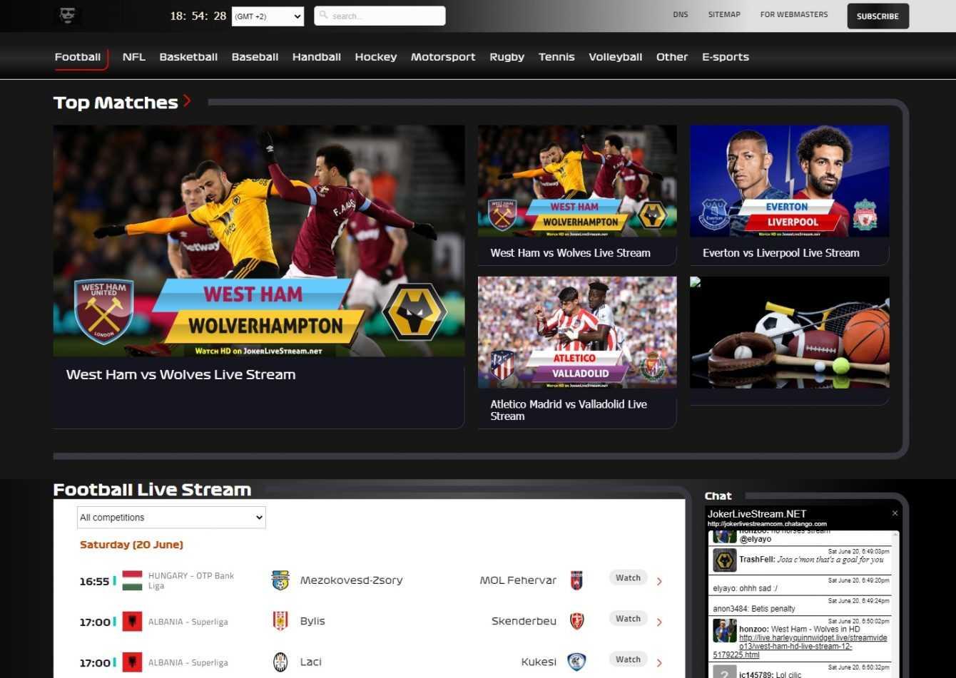 Los mejores sitios gratuitos de transmisión de fútbol  Febrero 2021