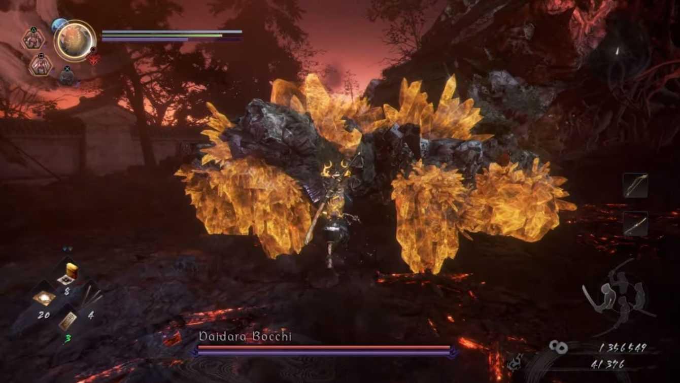 Nioh 2, Boss Guide: Cómo derrotar a un lado de Daidar