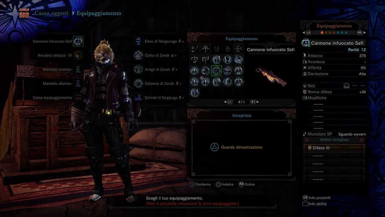 World Monster Hunter: Iceborne, una guía de armas para Safijiva