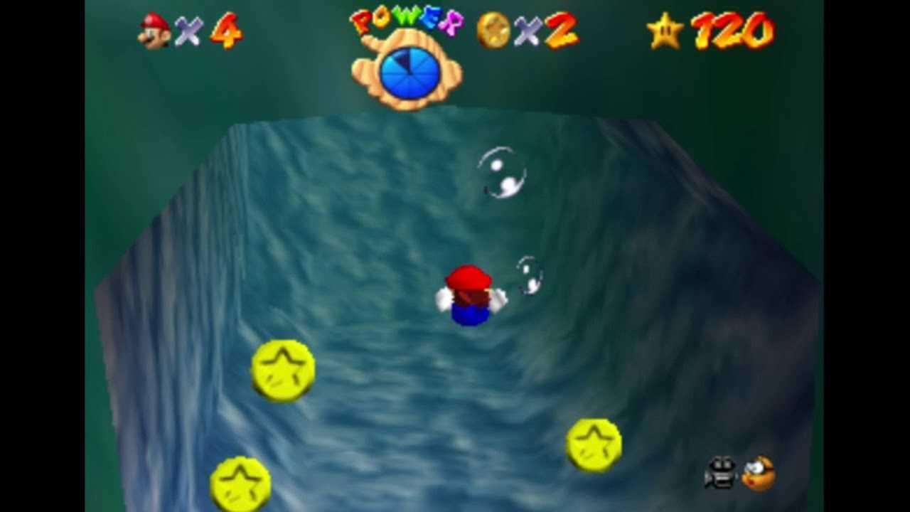 Super Mario 64: Dónde encontrar todas las estrellas en el Abismo