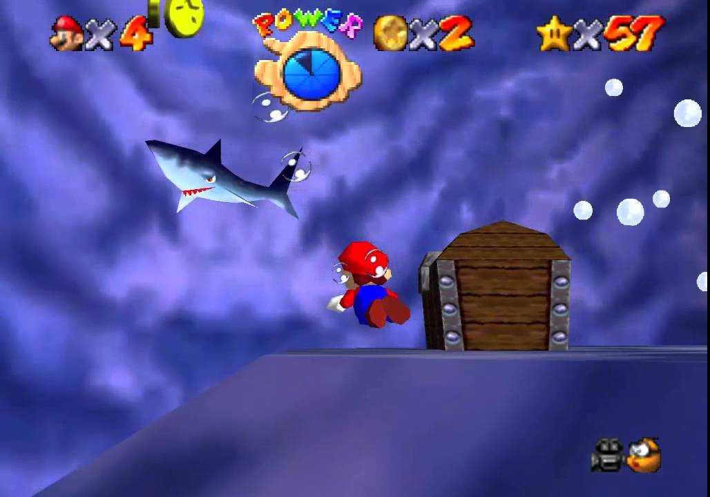 Super Mario 64: Dónde encontrar todas las estrellas en Water Abyss