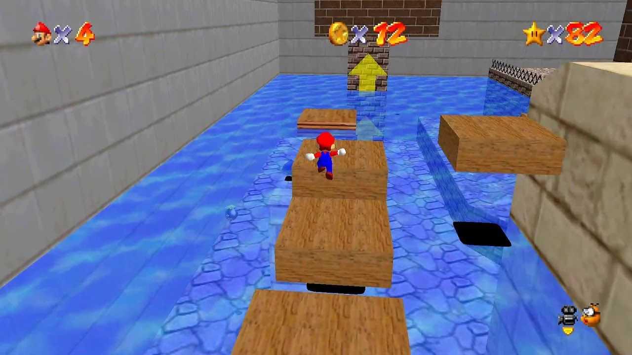 Super Mario 64: cómo encontrar todas las estrellas de Banya Asyuga