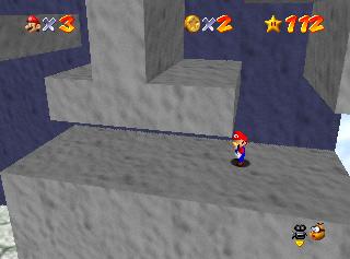 Super Mario 64: dónde encontrar las estrellas en Rainbow Walk