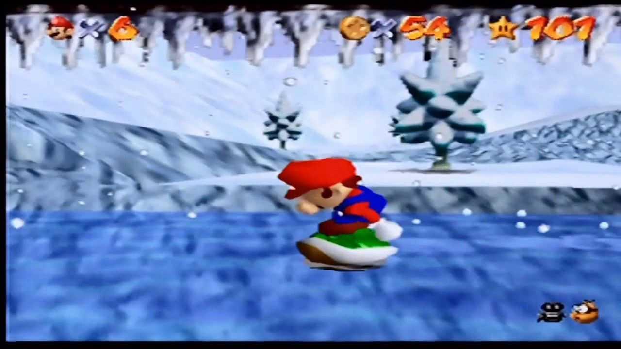 Super Mario 64: cómo encontrar todas las estrellas de Snow Earth