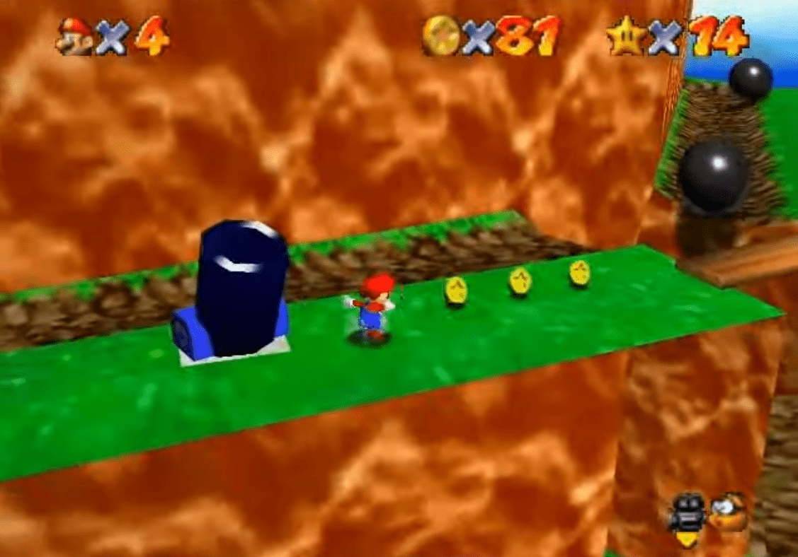 Super Mario 64: All Star Battlefield Bob-omb