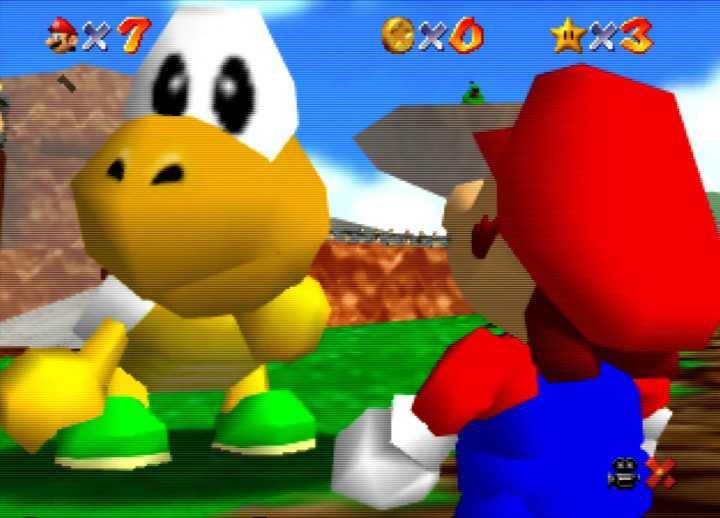 Super Mario 64: All Star Battlefield Bob-omb