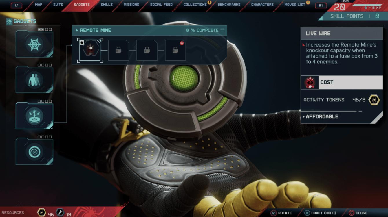 Spider-Man: Miles Morales, todas las herramientas y actualizaciones