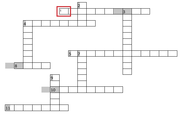 ¿Cómo crear rápida y fácilmente un crucigrama en Microsoft Word?  Guía paso a paso 11