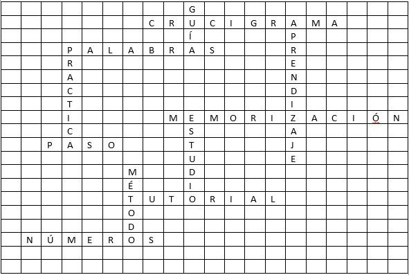 ¿Cómo crear rápida y fácilmente un crucigrama en Microsoft Word?  Guía paso a paso 5