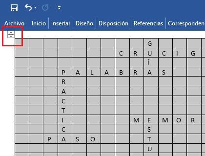 ¿Cómo crear rápida y fácilmente un crucigrama en Microsoft Word?  Guía paso a paso 6