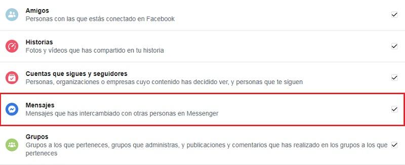 ¿Cómo recuperar todos los mensajes eliminados de Facebook y FB Messenger?  Guía paso a paso 14