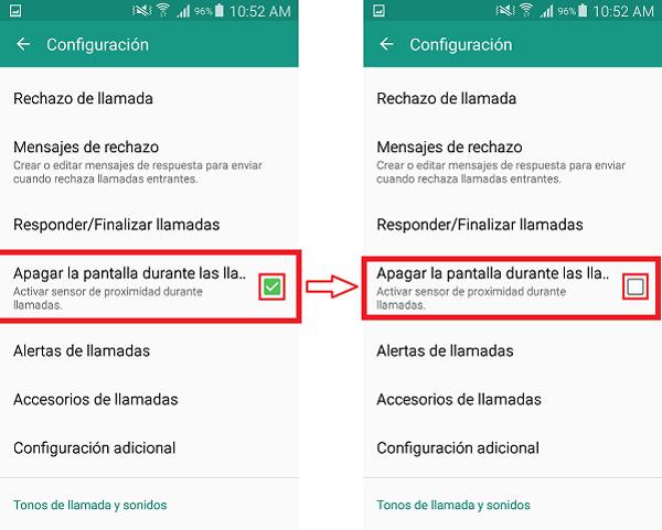 ¿Cómo deshabilitar y configurar el sensor de proximidad en teléfonos Android?  Guía paso a paso 5