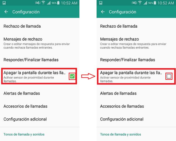 ¿Cómo deshabilitar y configurar el sensor de proximidad en teléfonos Android?  Guía paso a paso 3