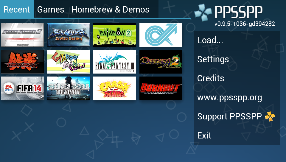Descarga Freeroms Games para PPSSPP.  Los mejores emuladores de PSP 3