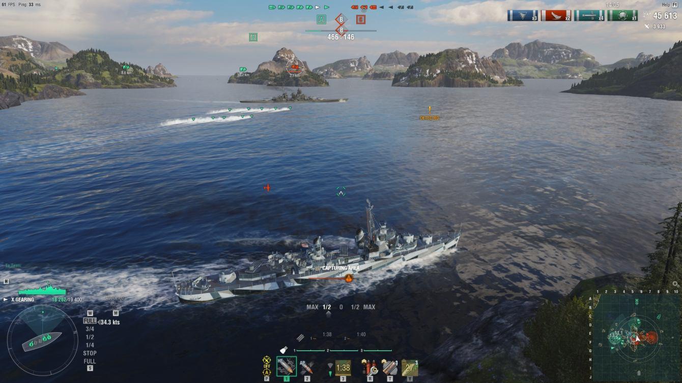 World of Warships: guías y consejos sobre el sistema de gestión de barcos