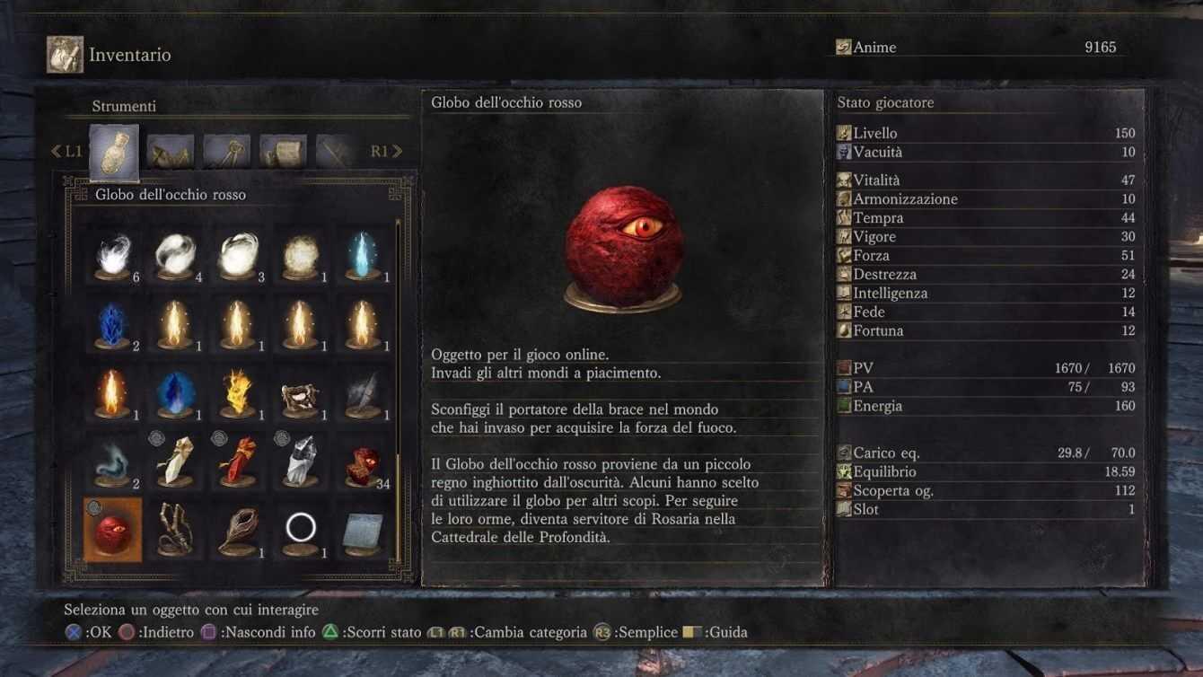 Dark Souls III PvP, Invasion y Red Eye Sphere  Guía