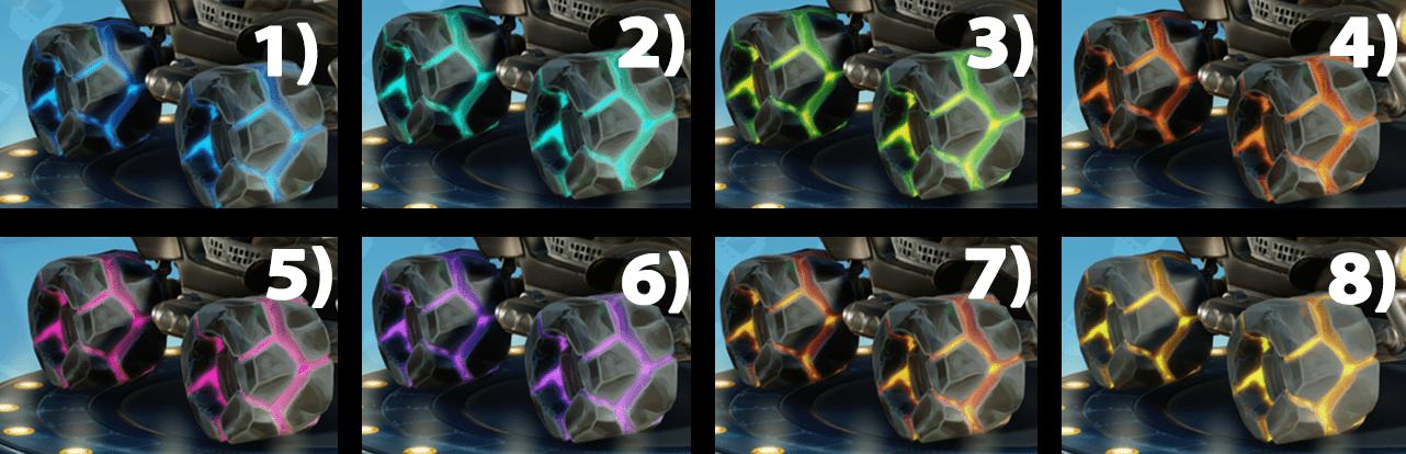 CTR: Nitratos, ¡aquí están todas las ruedas que se pueden desbloquear en el juego!