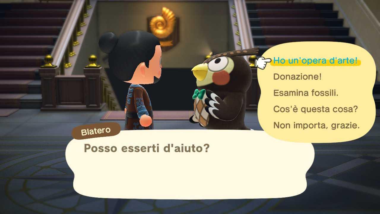 Animal Crossing: New Horizons, guía del museo y galería de arte