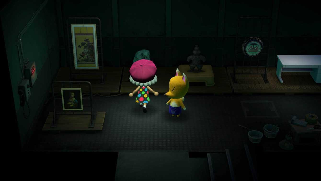 Animal Crossings: New Horizons, Obras de Volpal y reconocimiento falso
