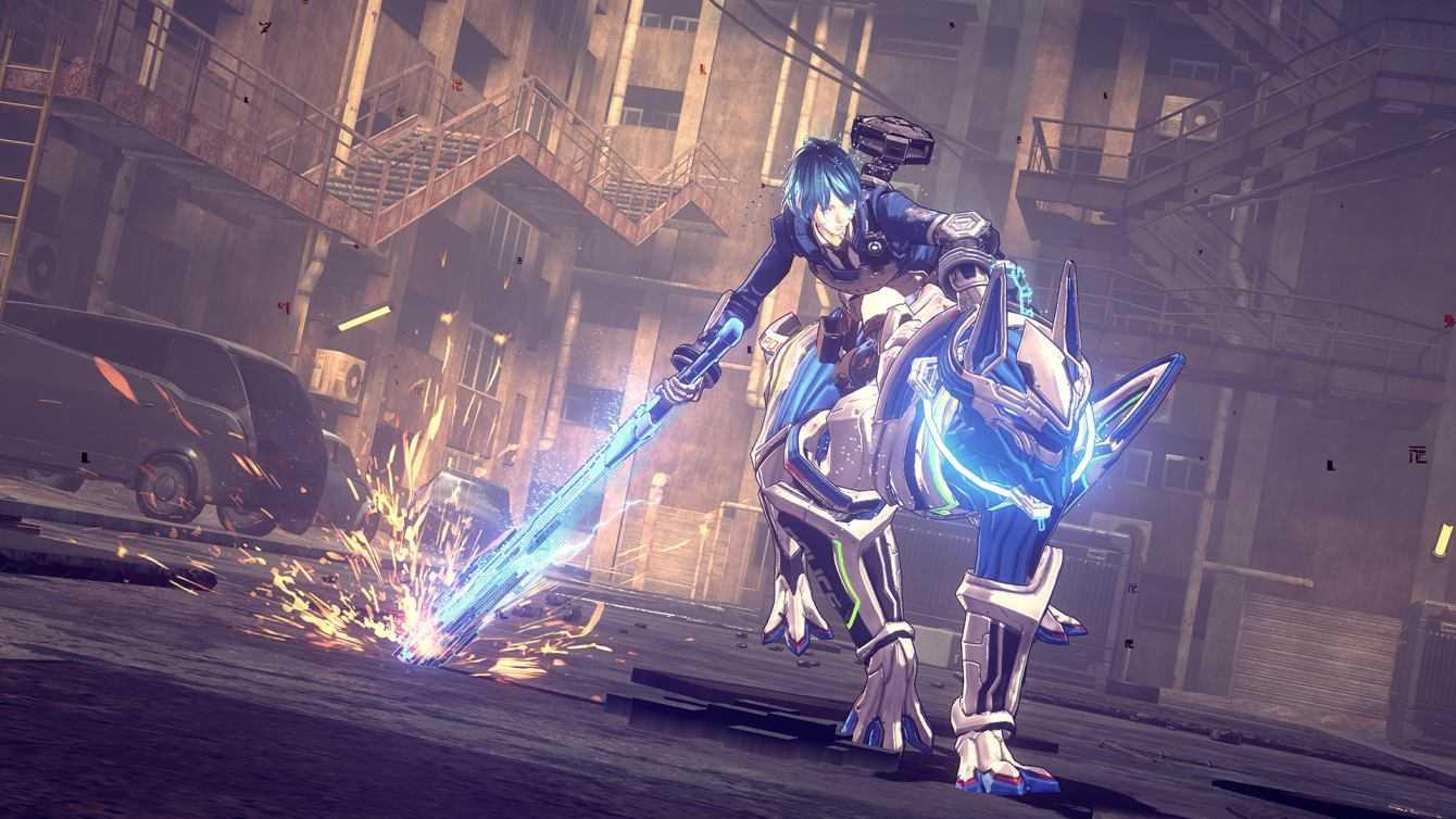 Astral Chain: Cómo derrotar al primer jefe: Briareas