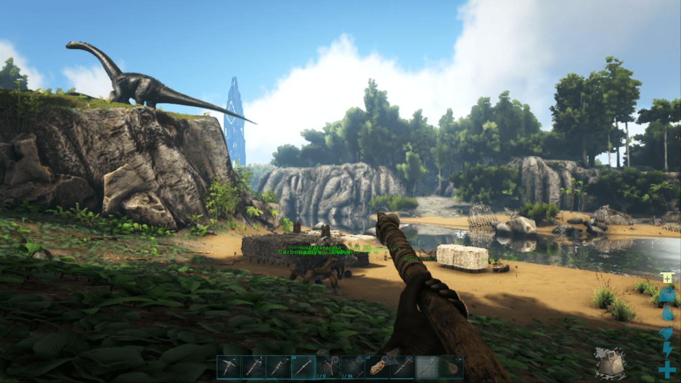 Ark: Survival Evolved - domesticando a la guía