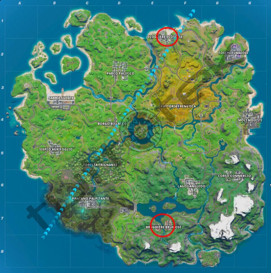 Fortnite Capítulo 2: Una guía para problemas de aguas abiertas  1 temporada