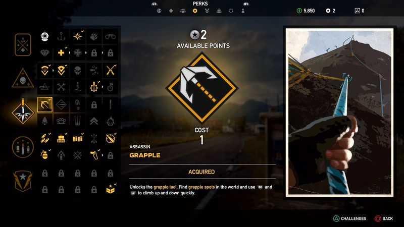 Far Cry 5: Mejores habilidades para desbloquear | Guía