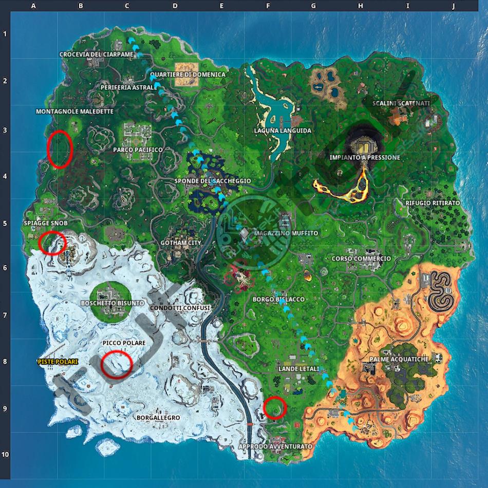 Fortnite: ¡Una guía de tareas centrales!   Temporada X