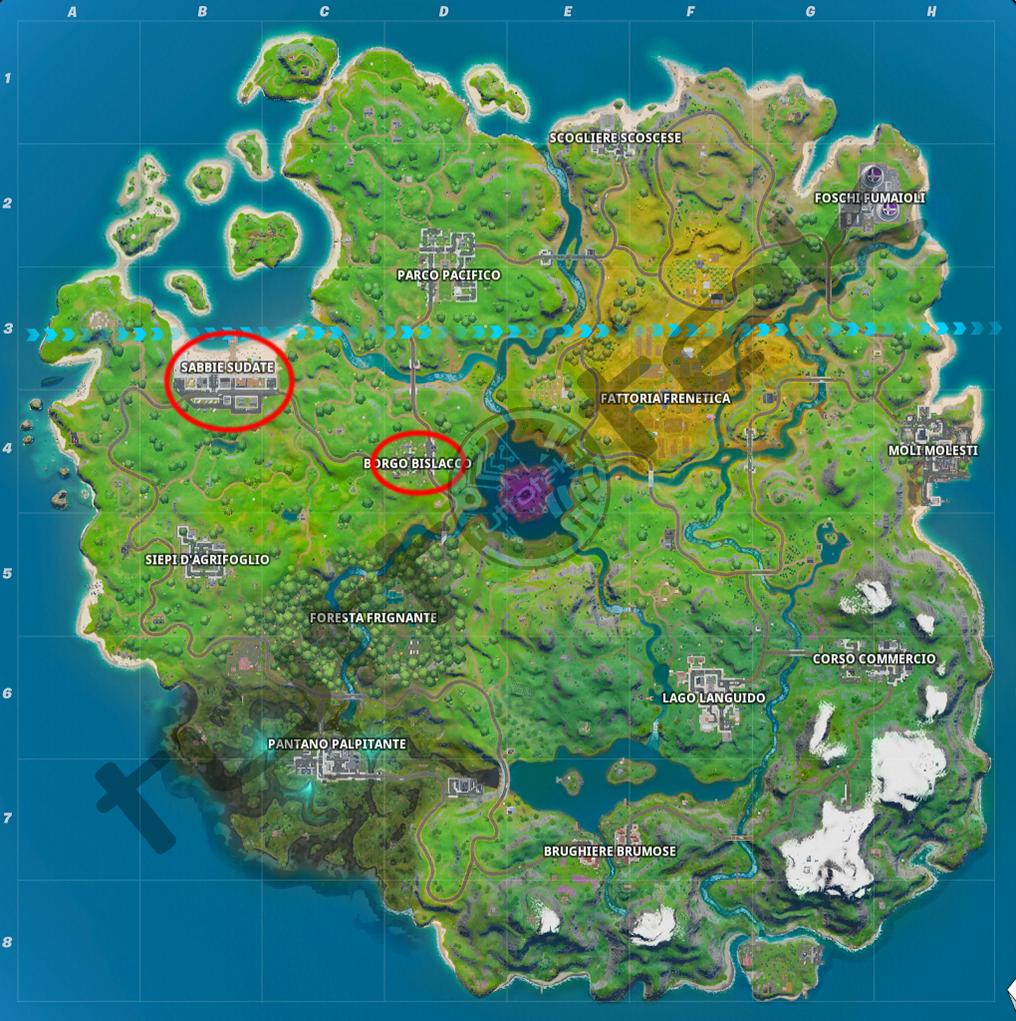 Fortnite: una guía para el duelo de desafíos  Capitulo 2