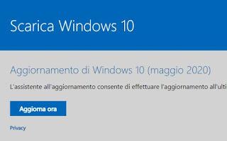 Actualización de mayo de 2020 Windows 10
